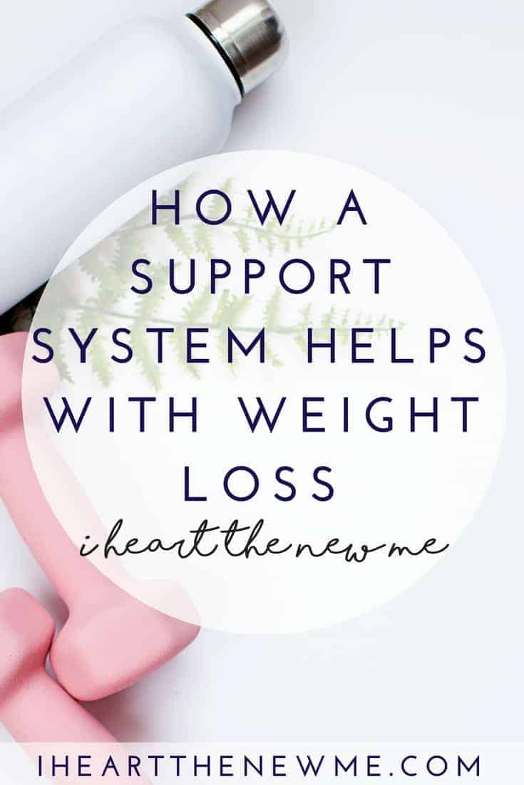 Find out why you need a support system! www.iheartthenewme.com/2017/01/support-system | Support system | Weight loss goals | Diet motivation | Diet tips |