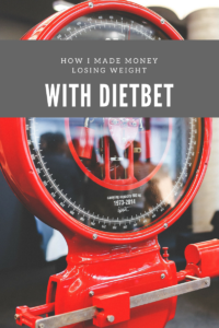 Make Money | Losing Weight | DietBet | Weight Loss Motivation | Click here If money motivates you! You need to try this! www.iheartthenewme.com/2017/02/made-money-losing-weight-dietbet/