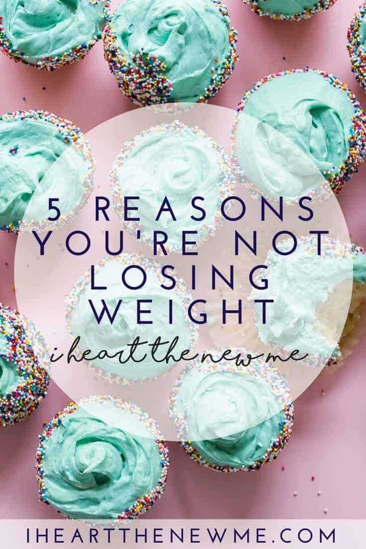5 Reasons You Fail at Weight Loss