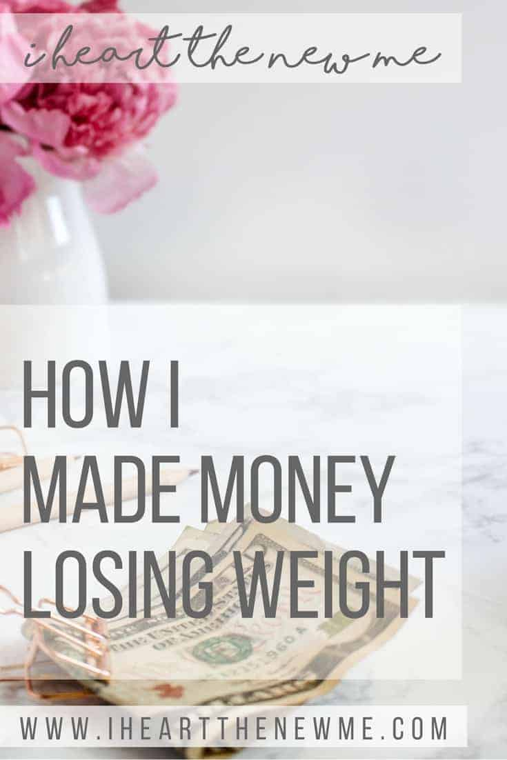 How to make money losing weight!