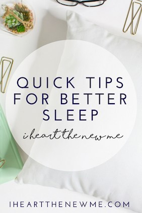 Better Sleep | Quality Sleep | Quick Tips for Better Sleep