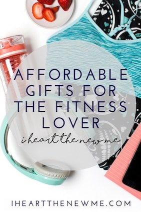 Affordable gifts for the fitness lover. Lots of cute ideas for fitness buffs! Gifts for all occasions!