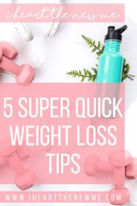 5 Quick Weight Loss Tips! These are just some quick tips to help you lose weight! Lose weight with these quick tips!