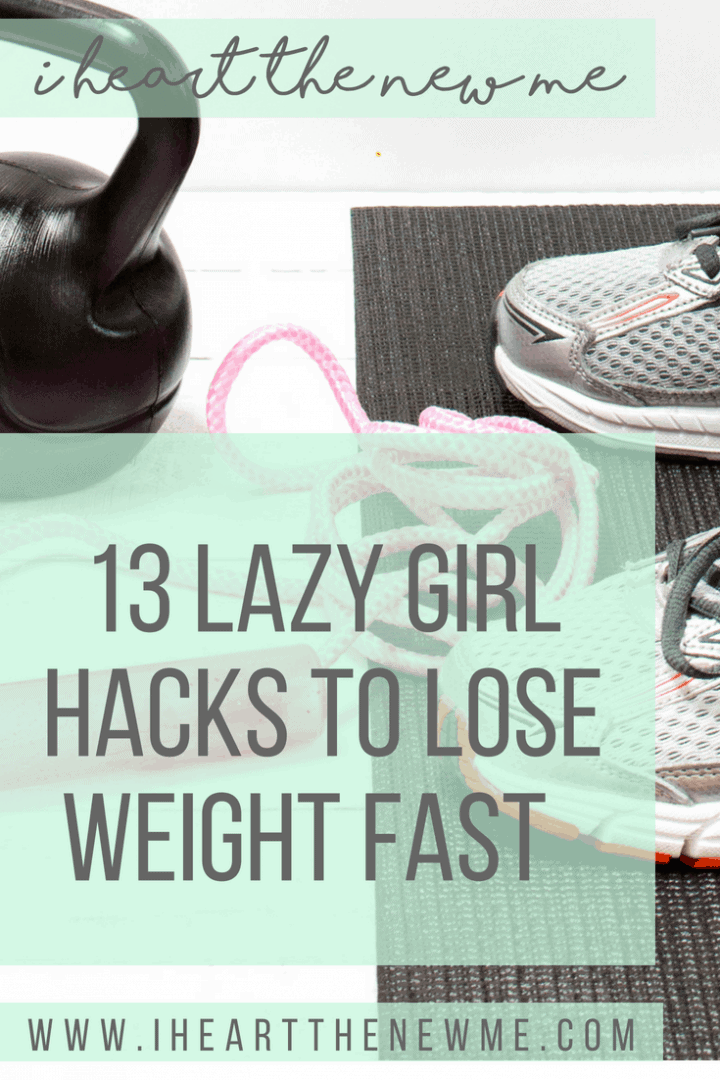Lazy Girl Weight Loss Hacks! Tips and tricks to help you lose weight and get healthy.