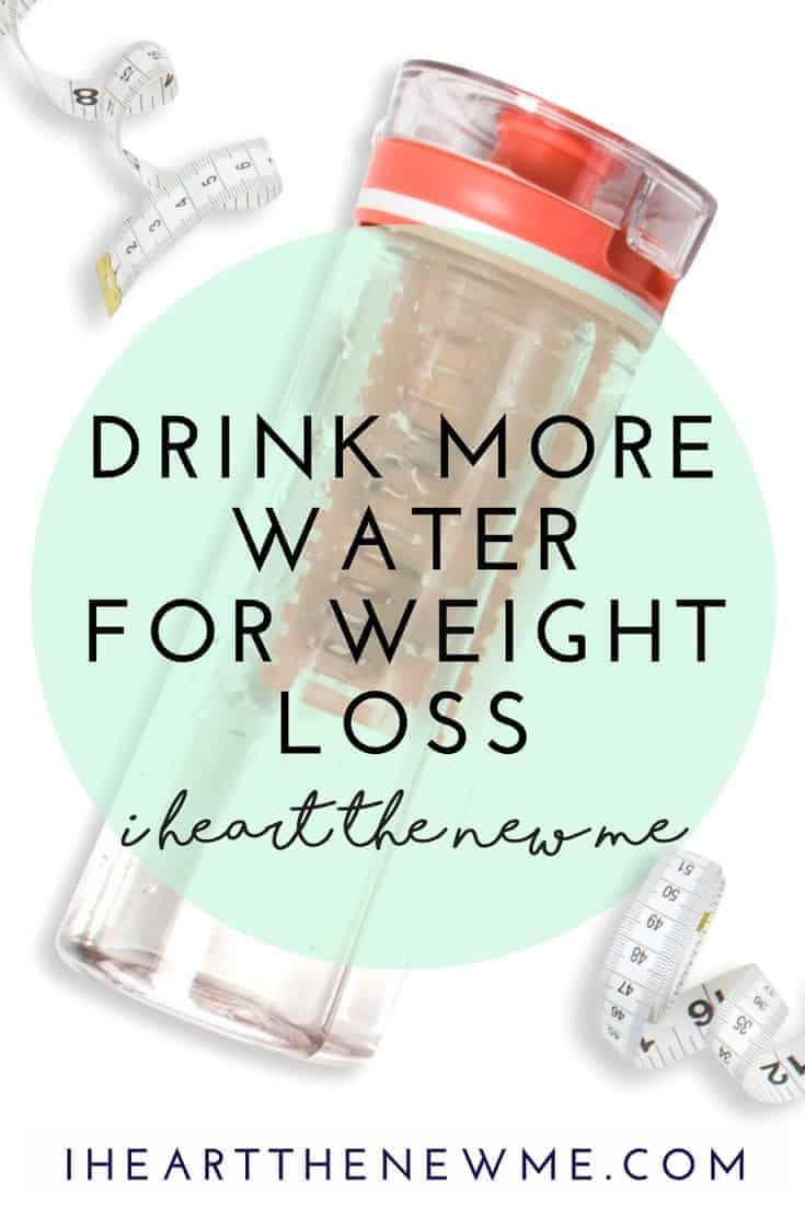 How drinking more water helps you lose weight