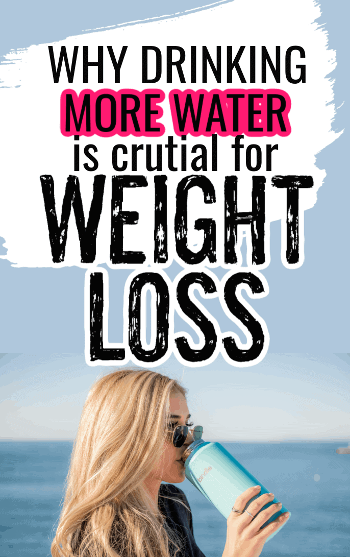 5 Reasons to Drink More Water for Weight Loss