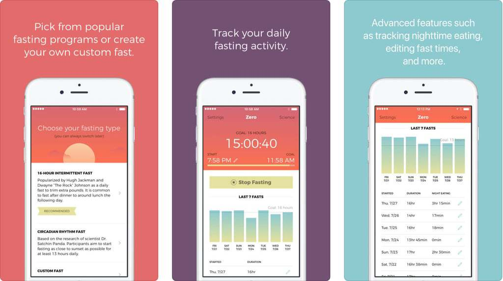 Zero - Top Intermittent Fasting Apps