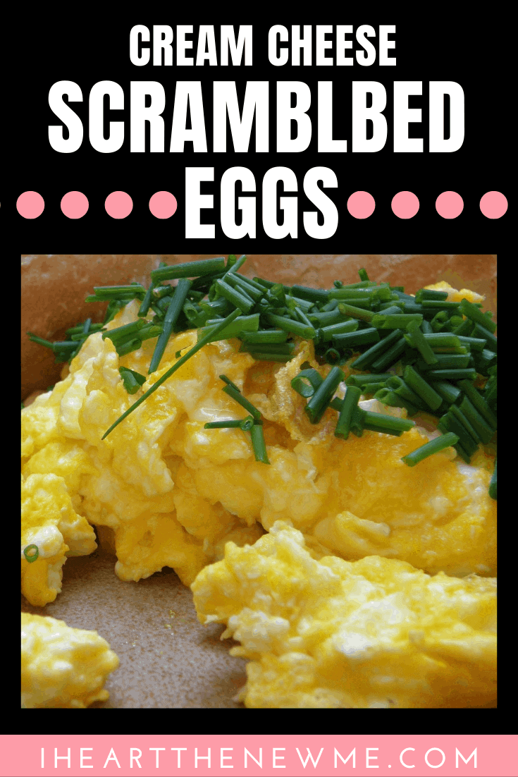 Cream Cheese Scrambled Eggs (Keto Approved)