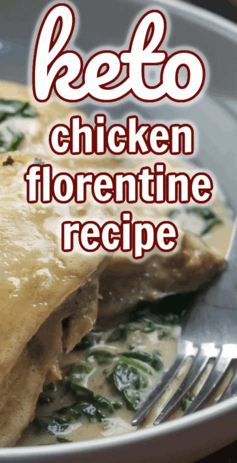 Keto Chicken Florentine Recipe