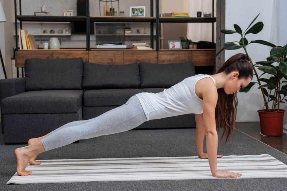 Kumbhakasana Plank Yoga Pose