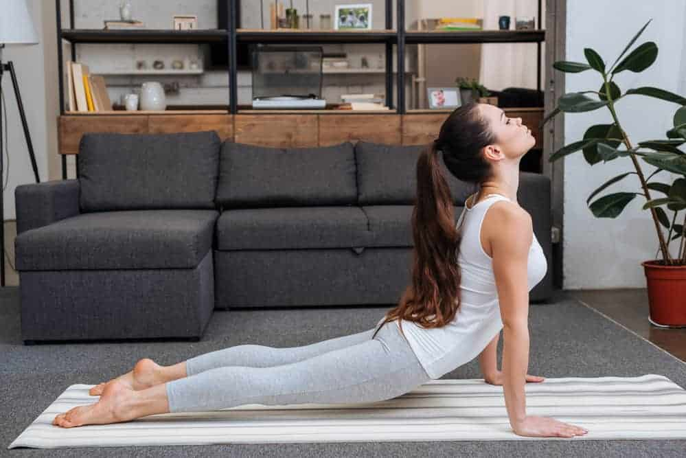 The Cobra Pose - Yoga to Reduce Belly Fat