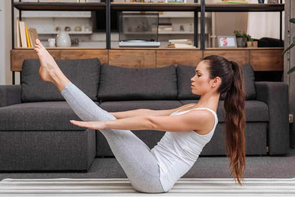 The Boat Pose - Yoga to Reduce Belly Fat