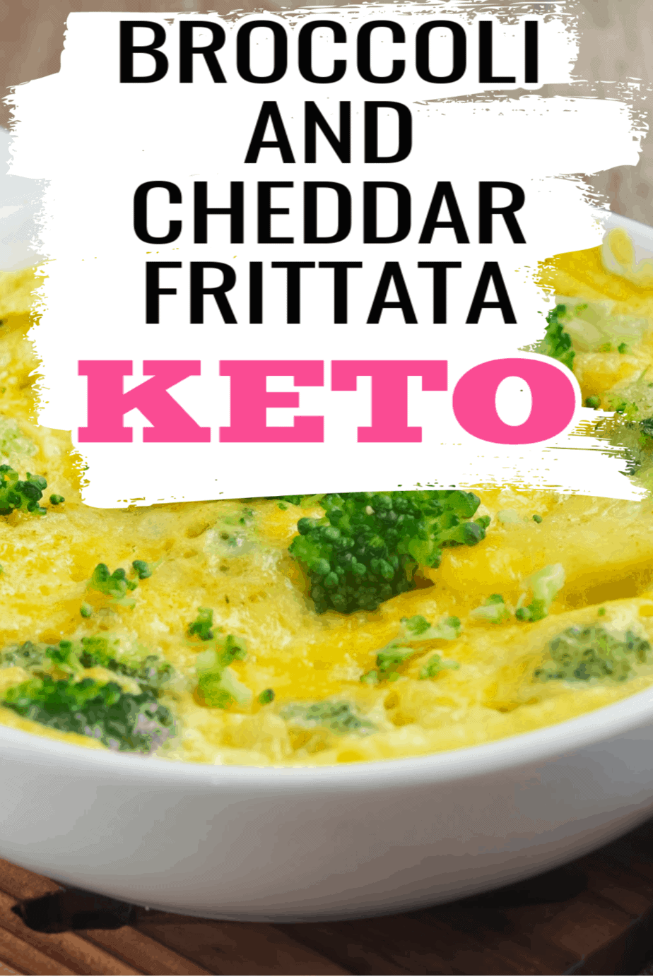 Keto Broccoli and Cheddar Frittata Recipe