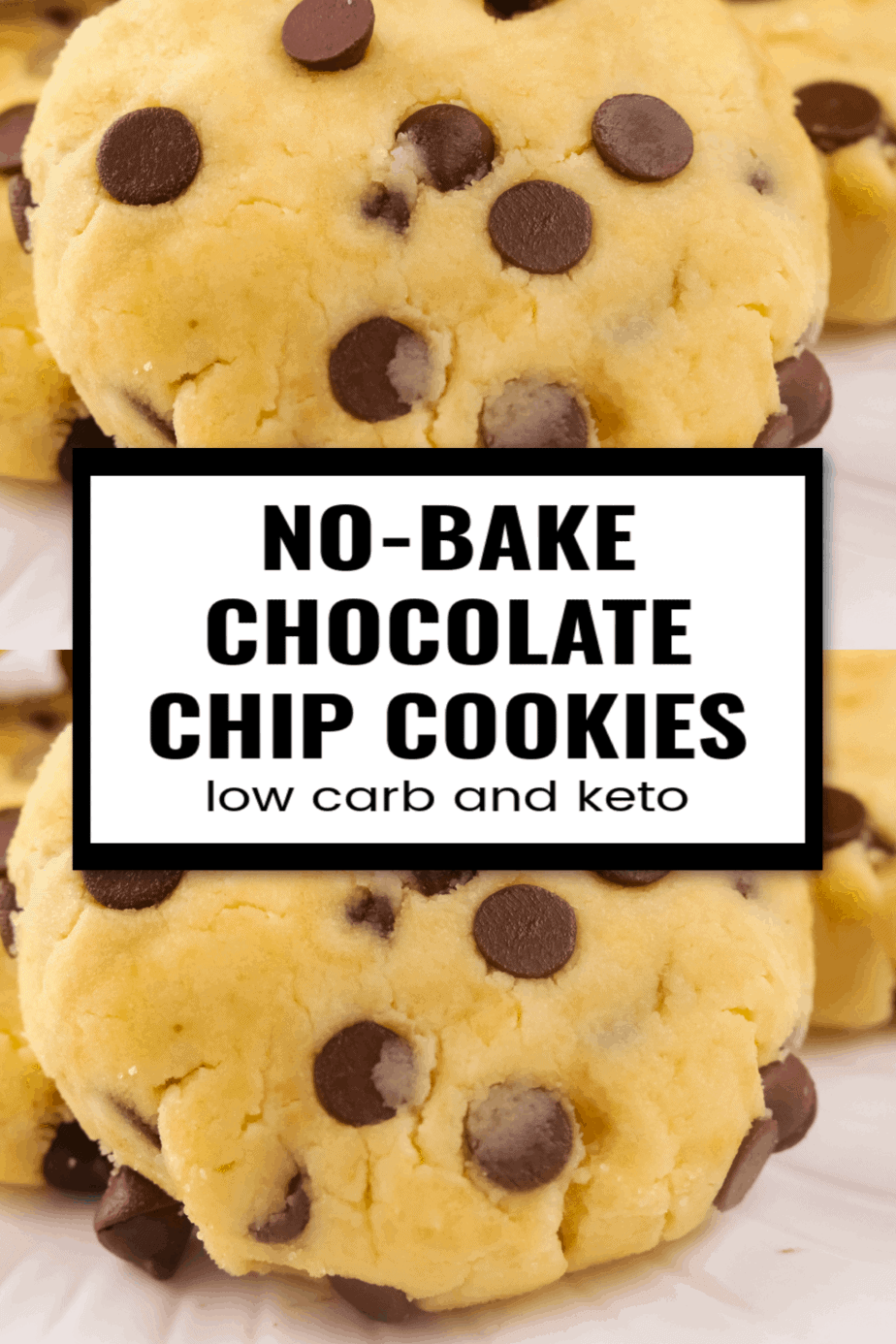 Keto No-bake Chocolate Chip Cookies Recipe