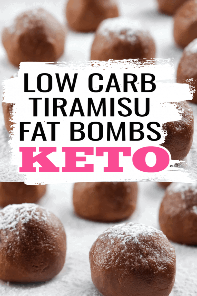 Keto Tiramisu Fat Bombs Recipe