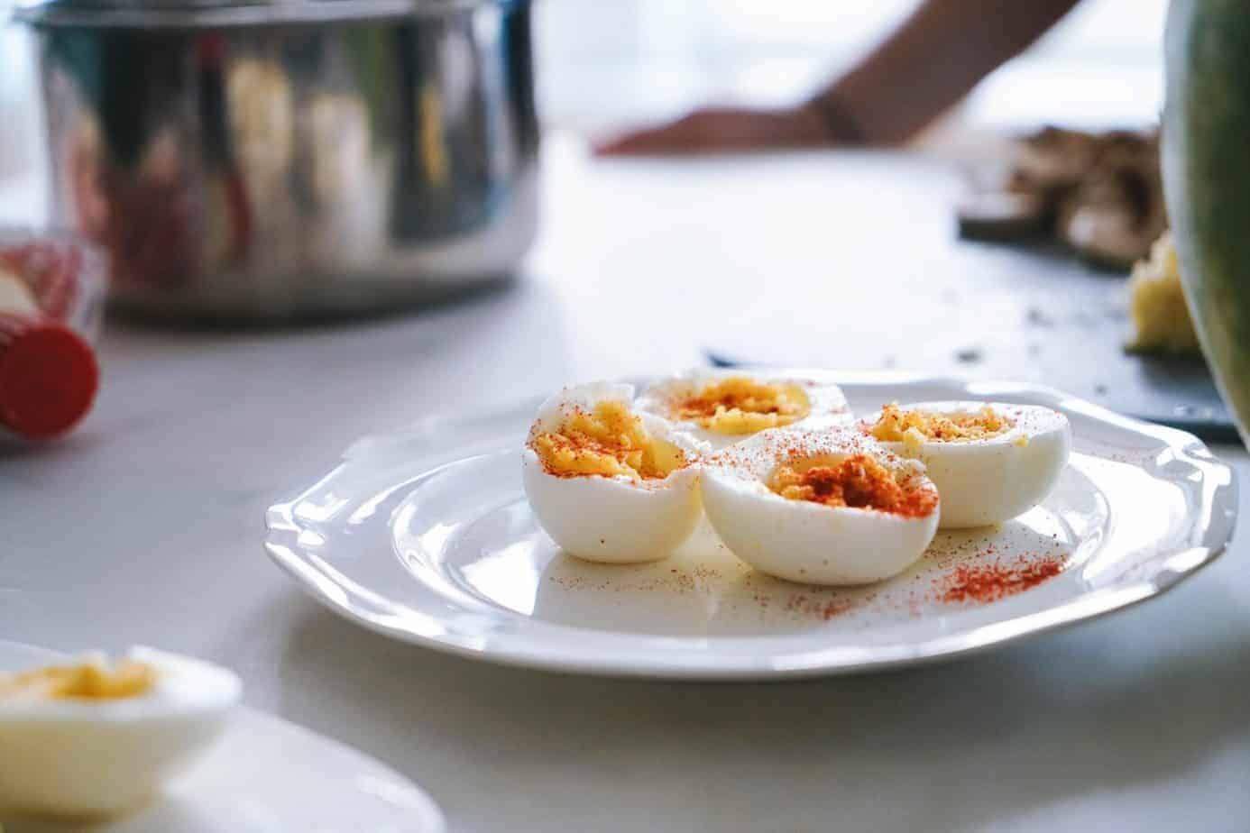 Hard Boiled Deviled Eggs