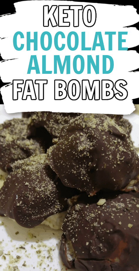 Keto Chocolate Almond Fat Bombs