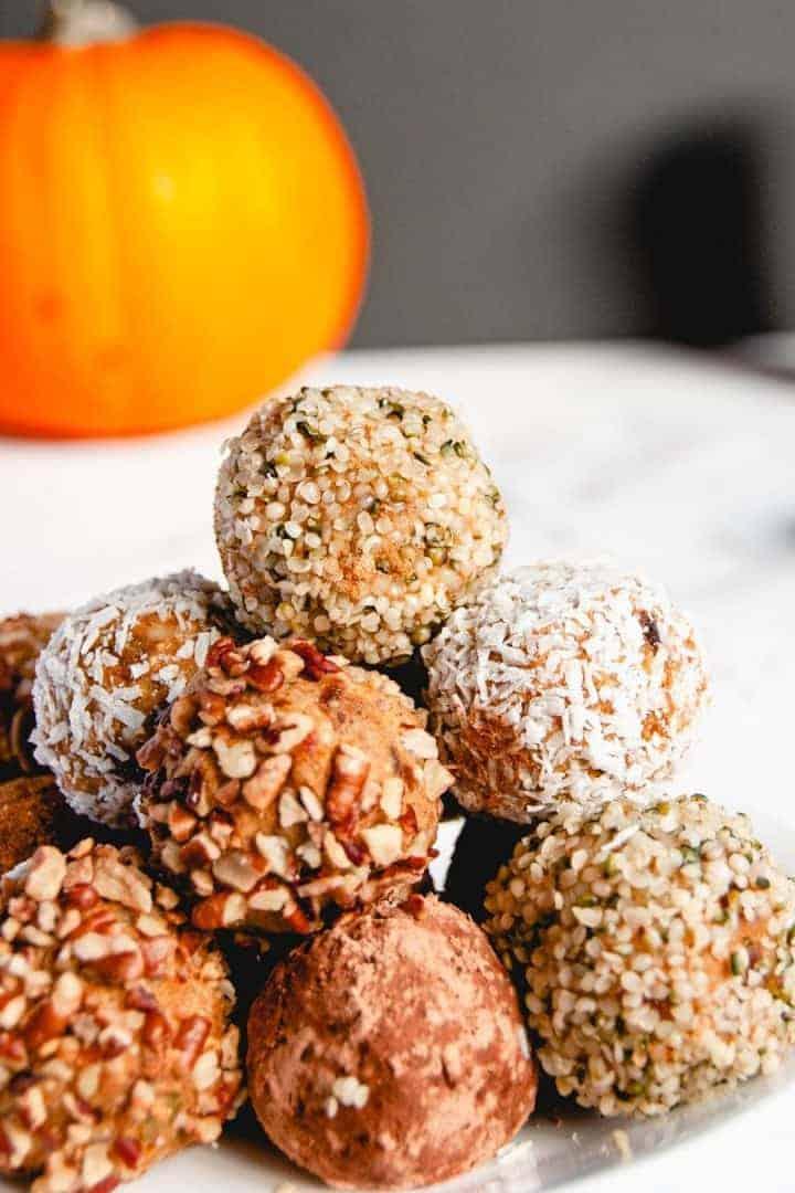 Pumpkin Energy Balls