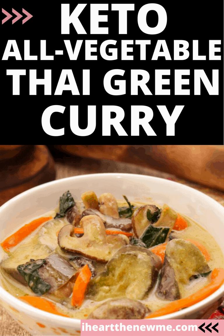 Keto All-Vegetable Thai Green Curry Recipe