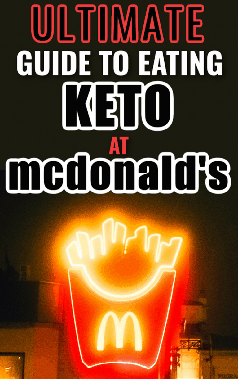 McDonald's Keto Hacks You'll Wish You Knew Sooner