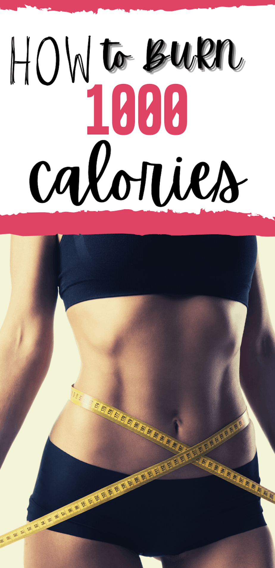 How To Burn 1000 Calories