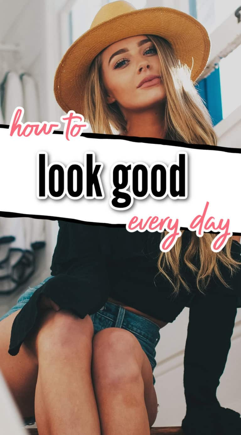 How To Look Good With Minimal Effort